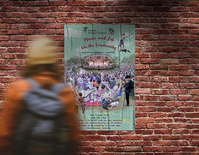 Mixed Media: Botanical Gardens(Event) Poster