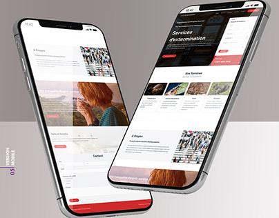 123 Extermination - Site Web, Branding, Infolettre