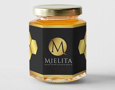 LOGO and BUSINESS CARD FOR MIELITA