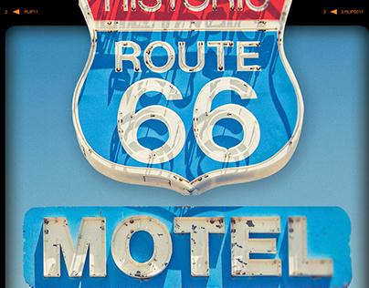 Rust-Oleum Route 66 Signage