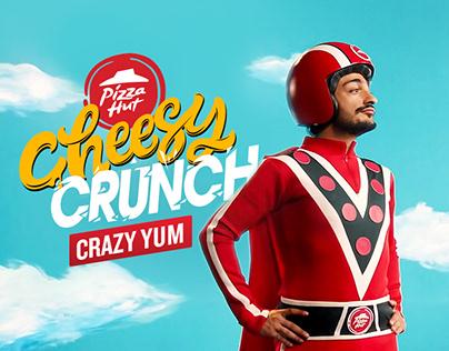 Pizza Hut | Cheesy Crunch Pizza Campaign