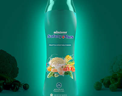 Minister Safety Plus Vegetable Wash