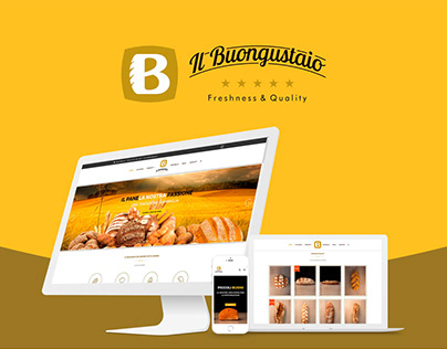Il Buongustaio Bakery website