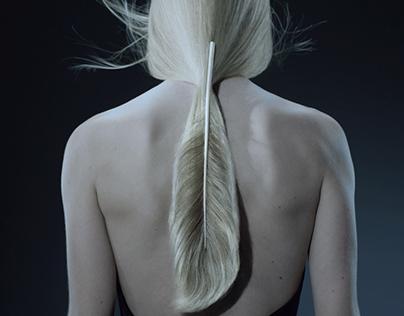 """Feathers """"John Nollet"""" ,  by Blanca Li"""