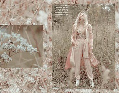 Lookbook- 'Mirrored Meadows'