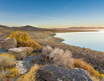 Pyramid Lake Nevada, November 2019