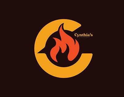 Cynthia's Barbeque Logo Design