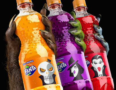 Fanta Halloween / 3D Replacement