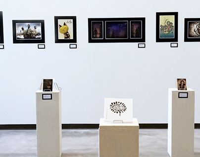 Brain Flower Zine Marketing & Gallery Show