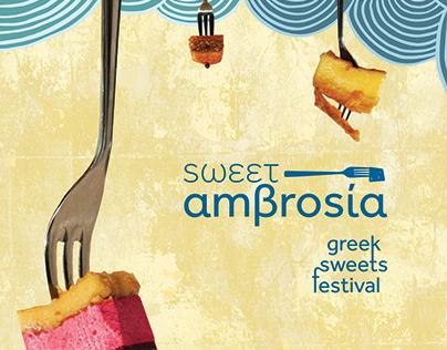 Sweet Ambrosia   Greek Sweets Festival