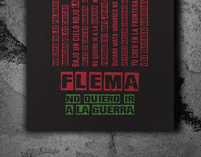NO QUIERO IR A LA GUERRA #FLEMA