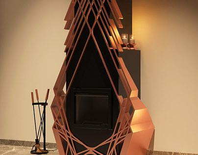 Fireplace - Conceptual Design