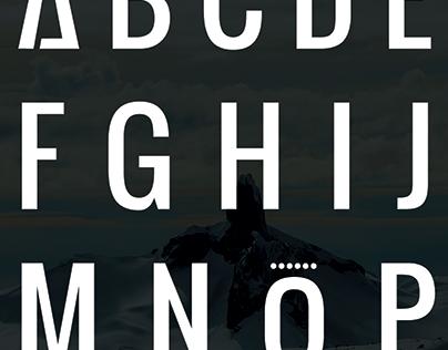 Snowboard Addiction Font Design