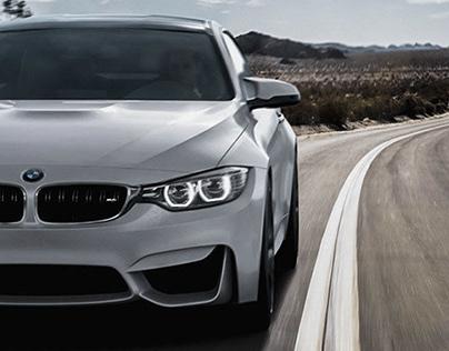 BMW M4 - Desert Road