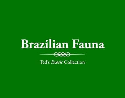 Ted Baker / Brazilian Fauna