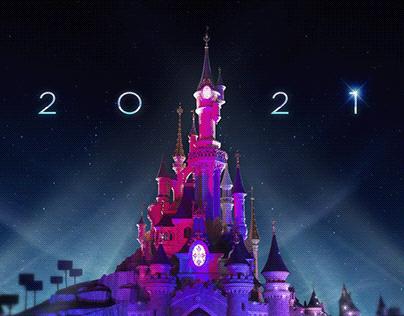 Ecard 2021 DisneyLand Paris