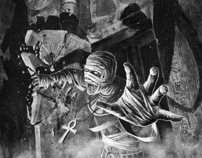 Horror Illustrations for Sine Requie role play game