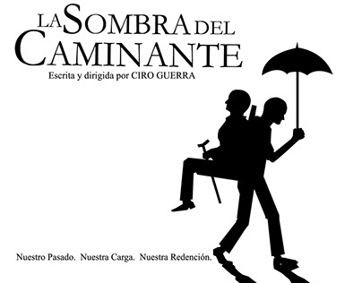 La Sombra del Caminante - Cartel / Poster