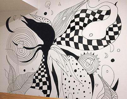 Chaos is my playground - mural