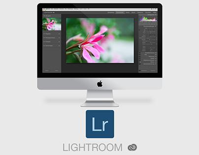 Lightroom Cloud Designkonzept