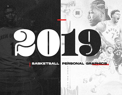 Basketball Personal Graphics - 2019