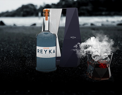 Reyka Vodka Retail space