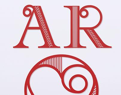 Aroha - Māori word for 'love' lasercut wall art concept