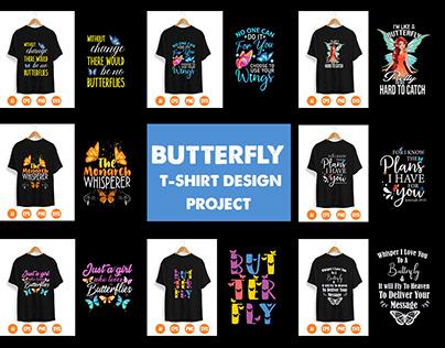 Butterfly T-Shirt Design Project