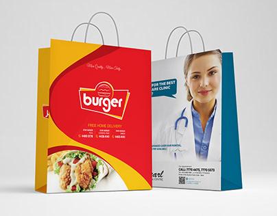 I will design Shopping Bag in Custom Sizes