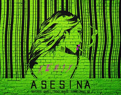 ASESINA REMIX: Brytiago/Darell/Daddy Yankee/Anuel/Ozuna