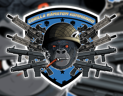 Logo for Paintball Club