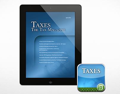 Taxes iOS App