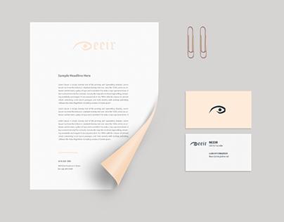Neeir Brand identity