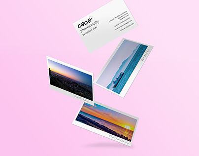 Coco Photography Business Card