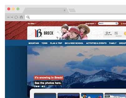 Breckenridge Ski Resort Reskin
