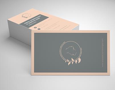 business card - espace cosmétologie et soins au laser