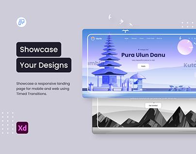 Showcase Your Designs