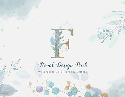 Floral Watercolor Motion Design Pack