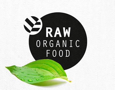 Identity & Packaging RAW Organic Food