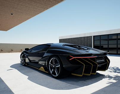 Lamborghini Centenario UE4 (RTX)