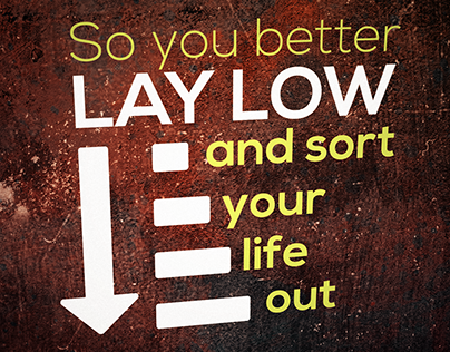 Sort Your Life Out Lyric Video