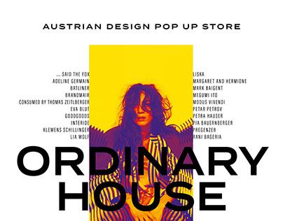 "Austrian Design Pop up Store ""Ordinary House"""