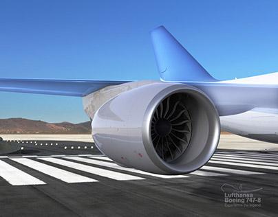 Lufthansa ˙ B747-8