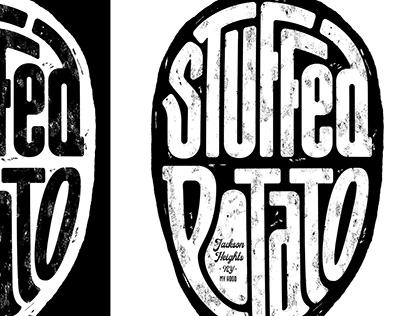 Logotype Stuffed Potato - Jackson Heights NY