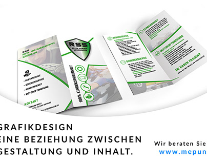 Grafikdesign / Falzflyer RSS