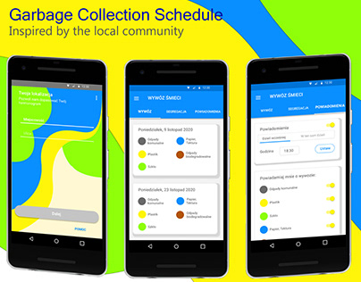 Garbage Collection schedule