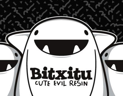 BITXITU · Cute evil resin