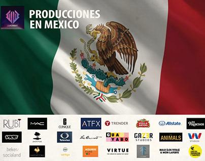 PRODUCCIONES EN MEXICO