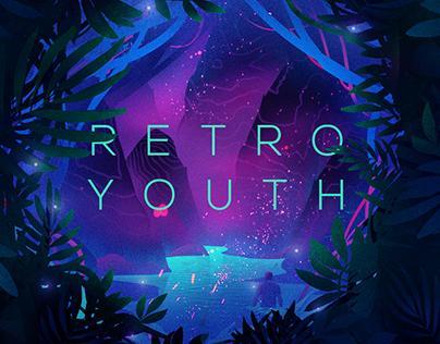 EPK Cover Artwork for Retro Youth