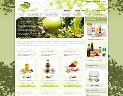 Arganoil, Online shop